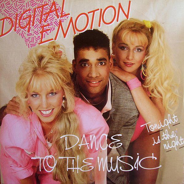 Digital Emotion  Dance to the music  kislemez