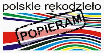 Popieram Polskie Rękodzieło.