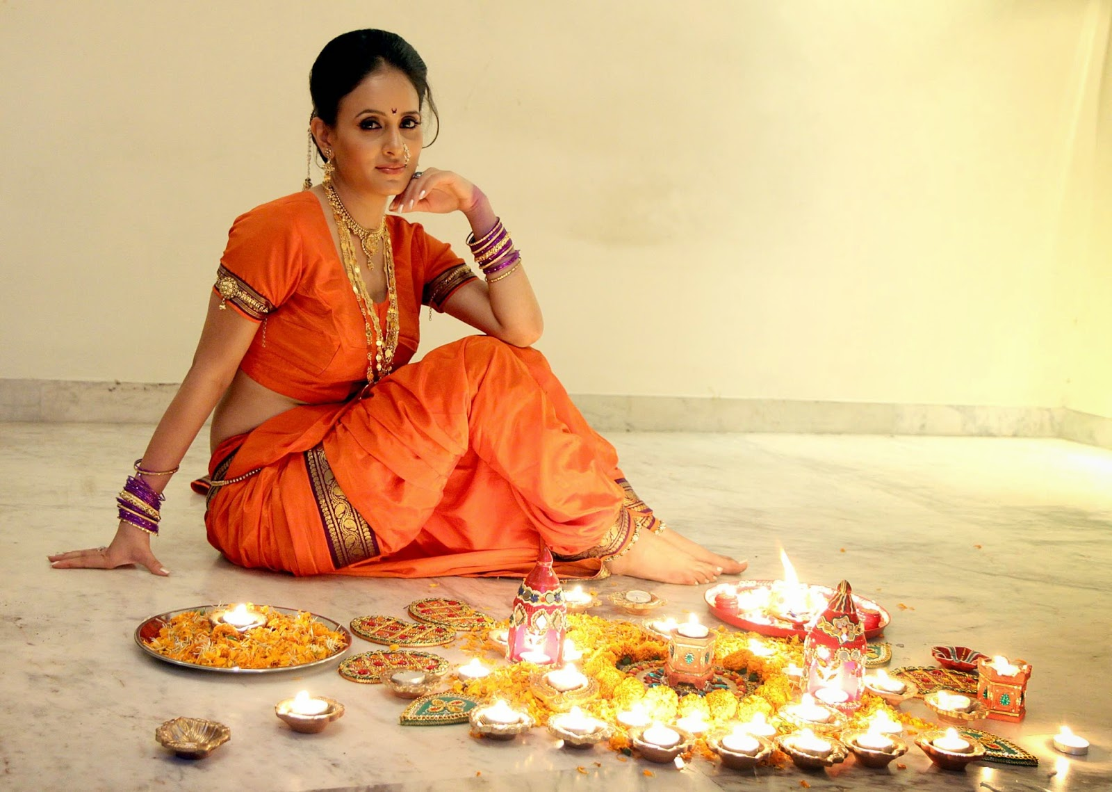 Shweta Khanduri Diwali Special Photo Shoot