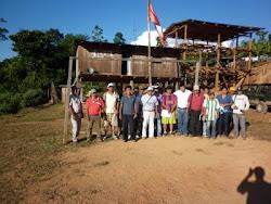 REUNION COMUNAL CON DIRIGENTES DE LA COMUNIDADES DEL CENTRO POBLADO DE TAMBO DEL ENE