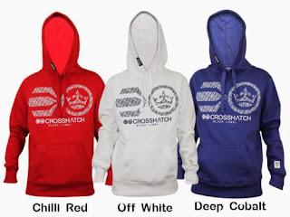 Mens Crosshatch Hoodie Hooded Sweatshirt Top Plain Hoody Jumper Pullover jacket