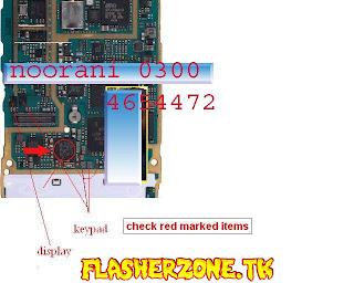 Nokia n96 keypad ways diagram hardware solution