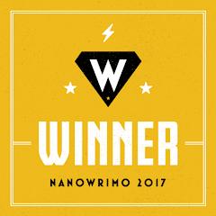 NaNo Winner 2017