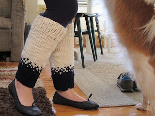 Snow Day Legwarmers
