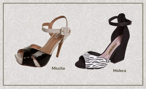 Duas cores para calçados Verão2015