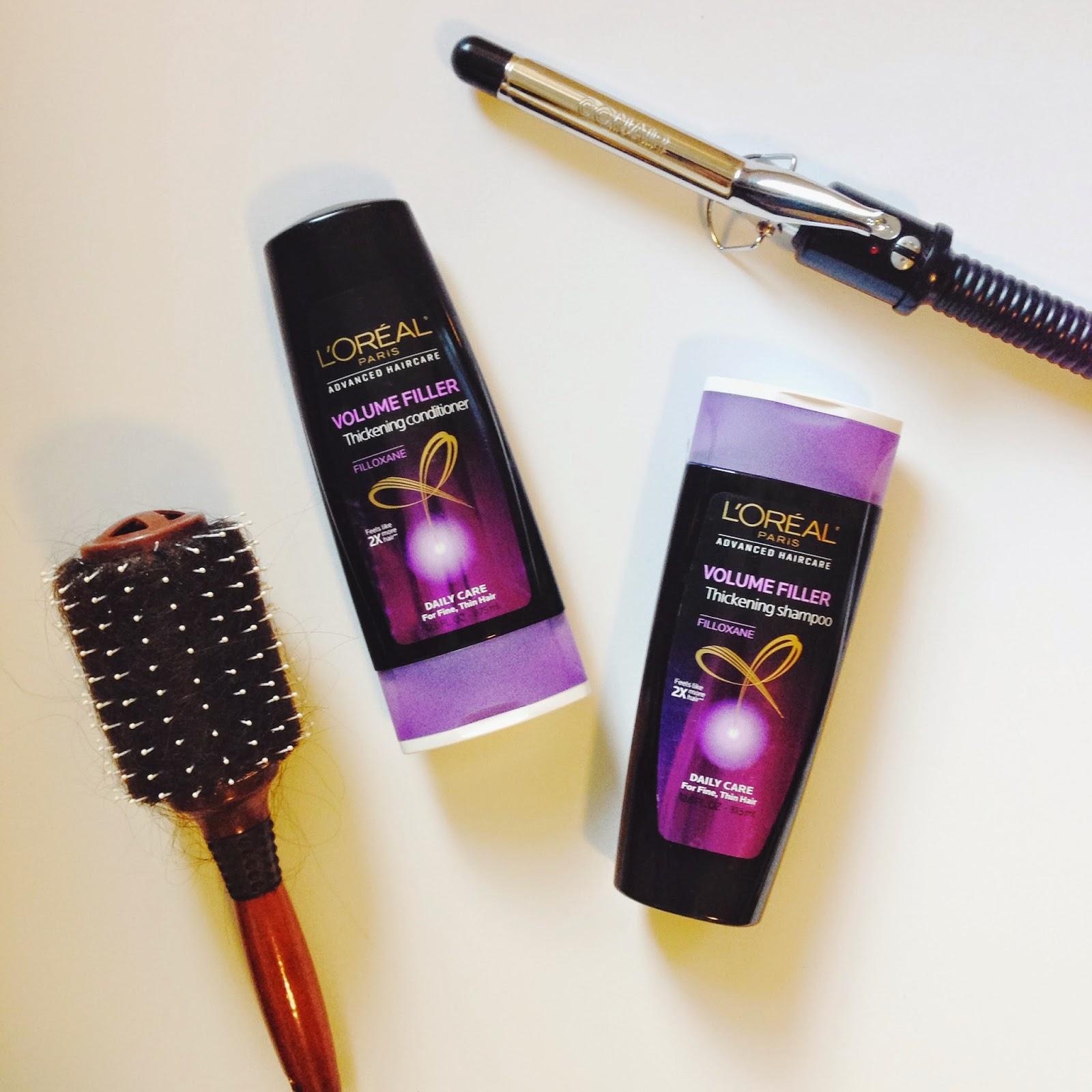 l'oreal advanced haircare, best shampoo thin hair, volume filler