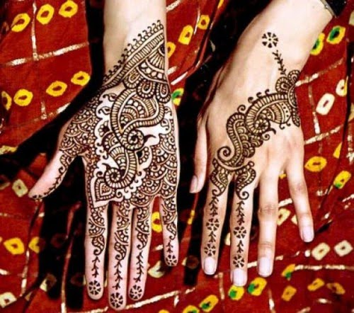 Indian Dulhan Mehndi design