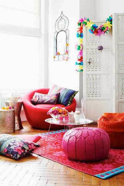Wnętrze pełne energii dzięki barwnym dodatkom