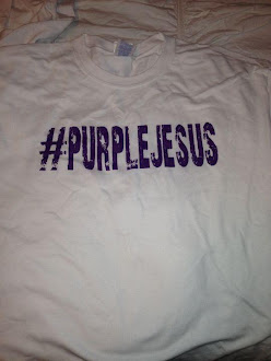 Purple Jesus Shirt, $10