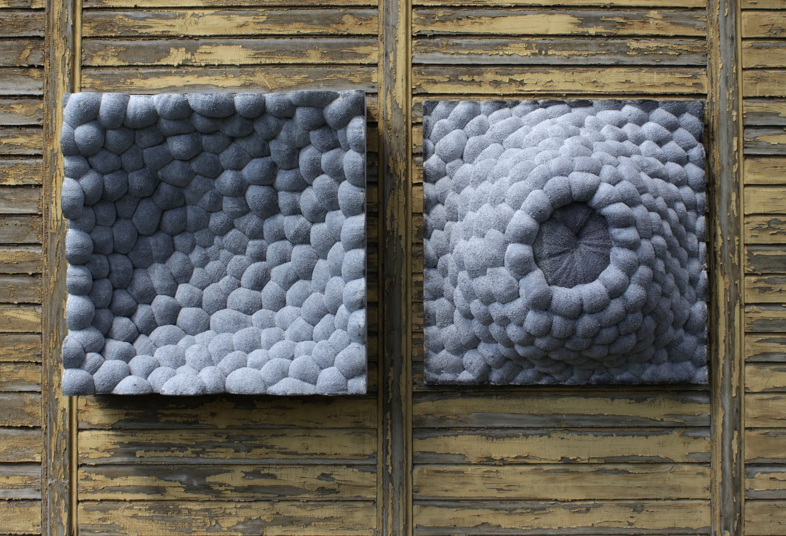 d3, 2015, mixed media, 100x100x35cm each