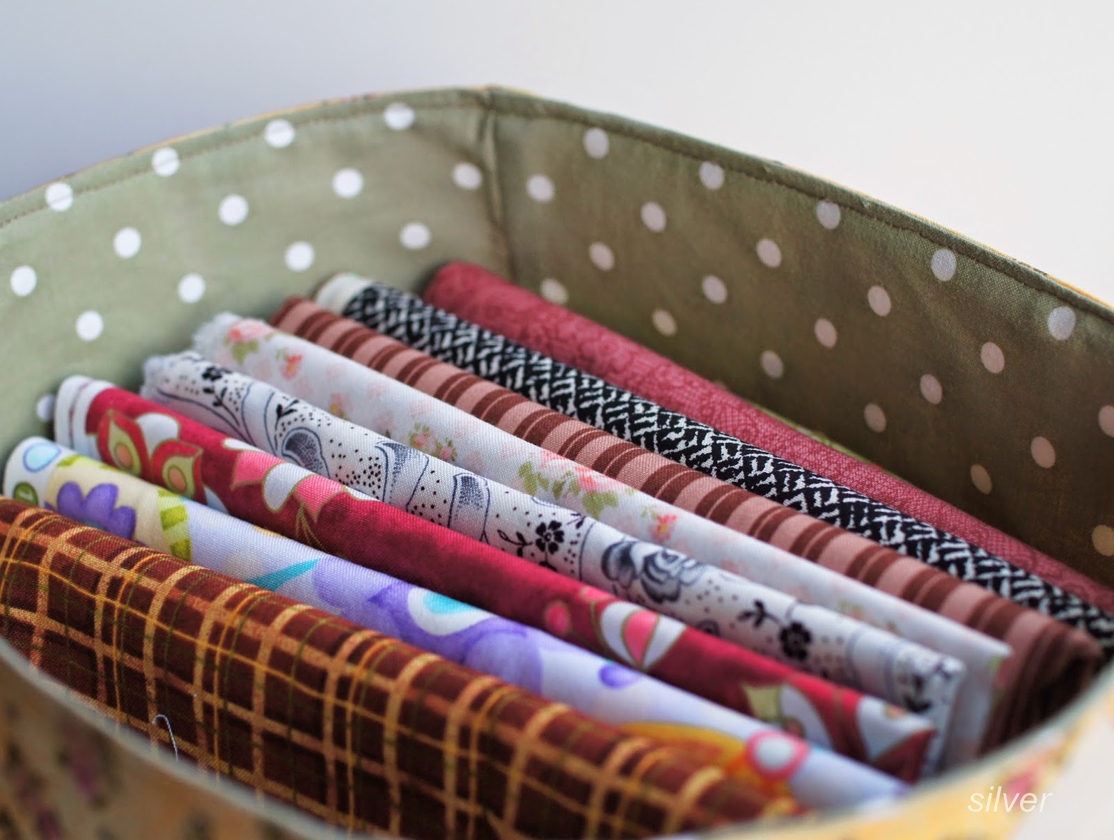 текстильная корзина