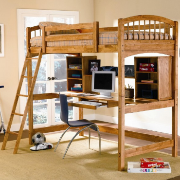 Home Decor Kids Bunk Beds With Desk