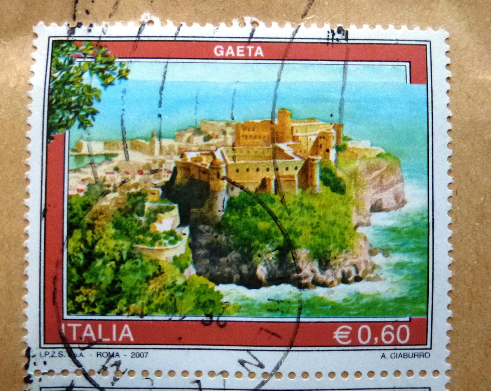 Gaeta francobollo