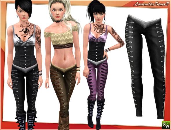 LorandiaSims3 Clothing L 312 Labels: Clothing   Adult Female