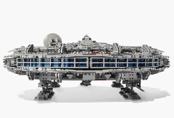 Dags Bricks Lego Techniques Building A Millennium Falcon 10179