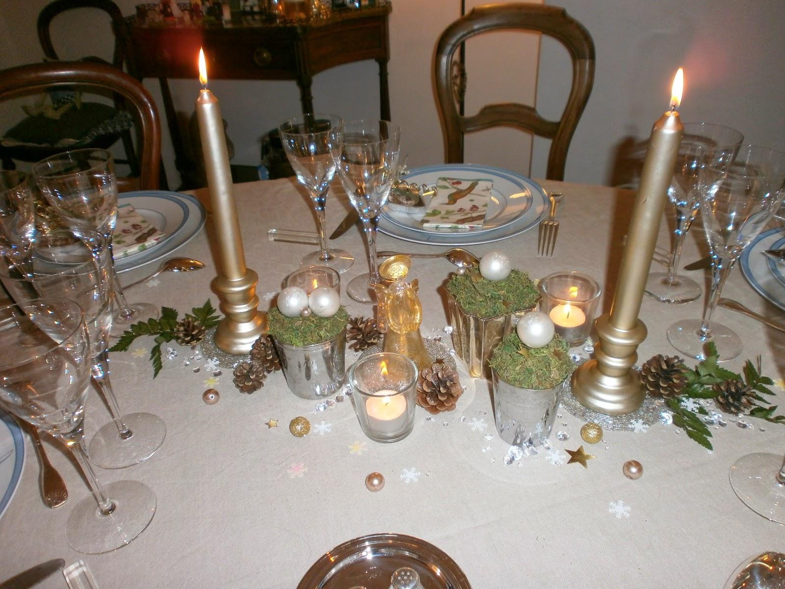 Les anges dans nos campagnes pour une table de nouvel an les tables de mon mari - Table nouvel an ...