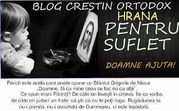 HRANĂ PENTRU SUFLET