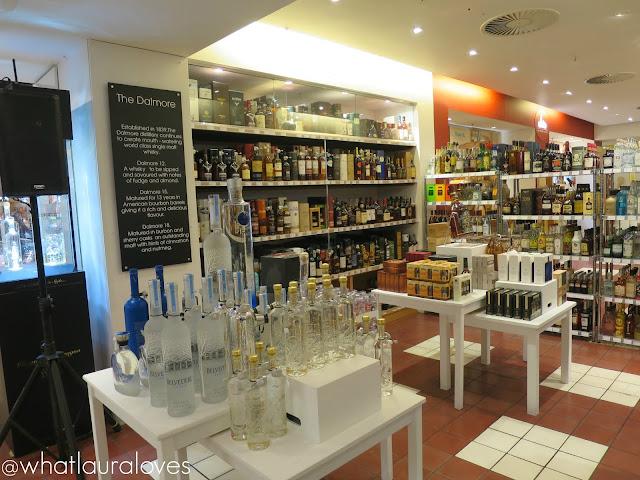 Selfridges Trafford Centre Foodhall Event Wine Shop