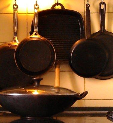 Как сделать что-бы не пригорала сковородка