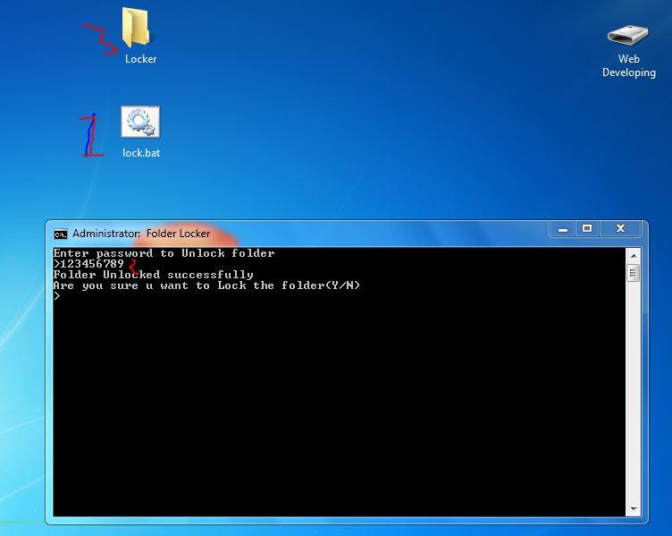 Lock Folder Without Software in Windows 7/8/XP/Vista ...