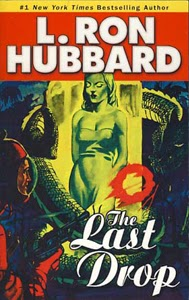 Portada original de The Last Drop, de L. Ron Hubbard