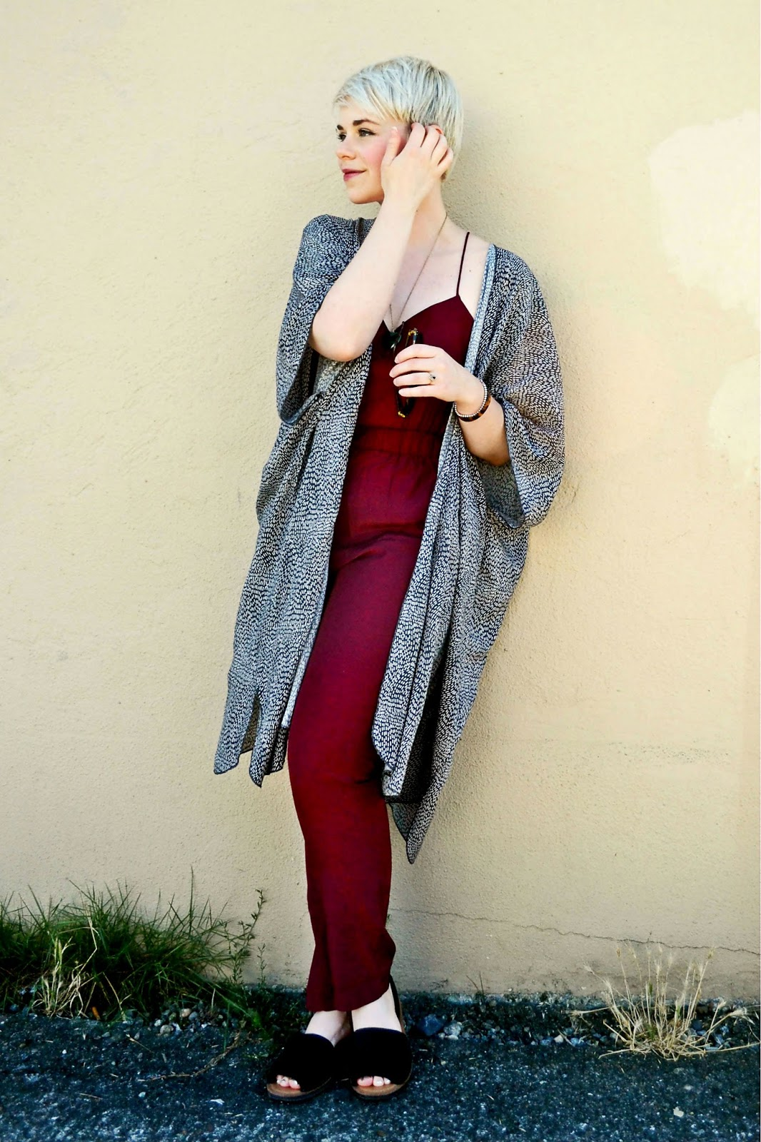 jewel tones, fall fashion, kimono, outfit ideas, look of the day, fleur d'elise,