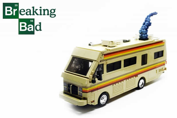 le camping car passe partout lego le camping car de breaking bad. Black Bedroom Furniture Sets. Home Design Ideas