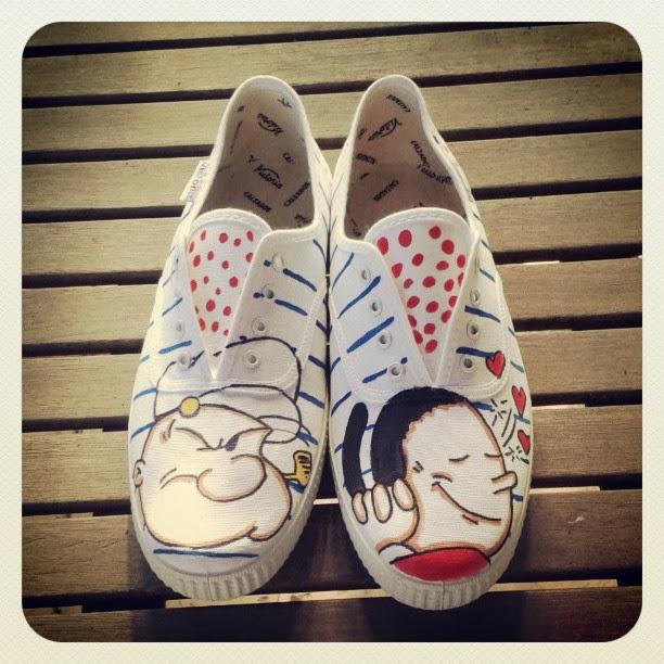 Mis zapatillas...