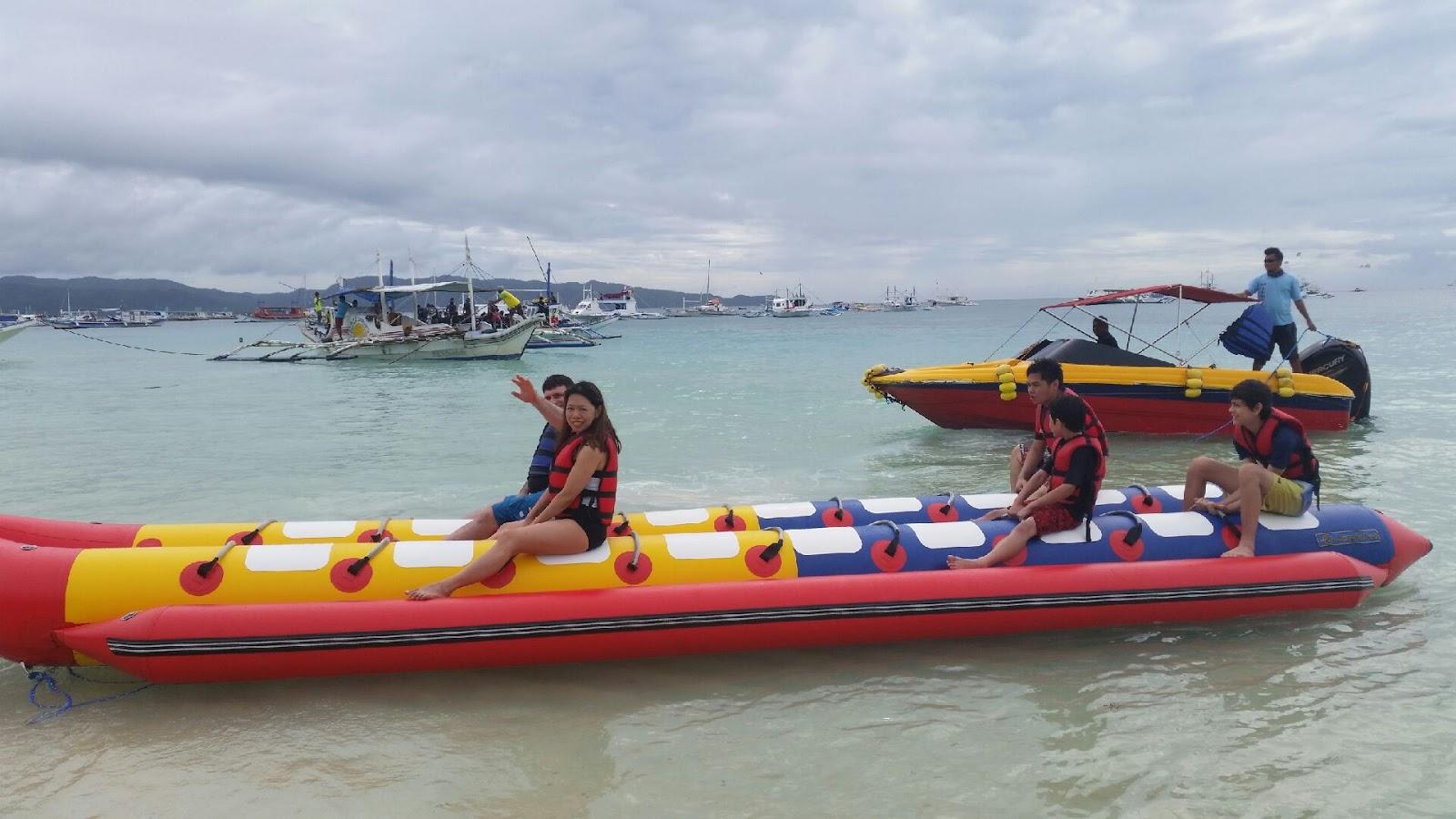 Boracay Banana Boat