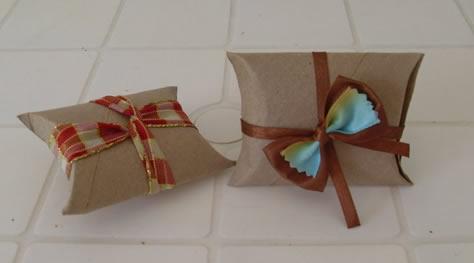 embalagens com rolo de papel higienico reciclado passo a passo