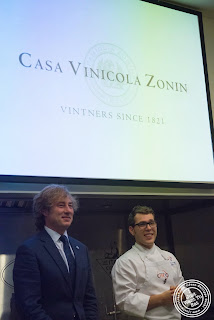 image of An Italian Culinary Experience with Casa Vinicola Zonin and Osteria Del Circo!