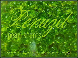 Because I'm Me Renuzit Pearl Scents