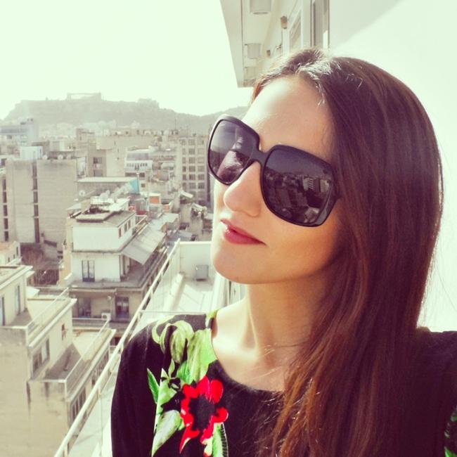 Instagram @lelazivanovic. View at Acropolis.