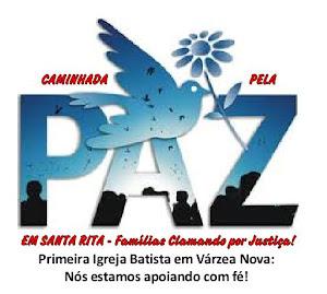 CAMINHADA PELA PAZ