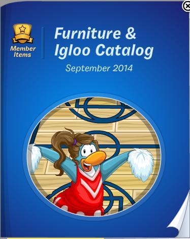 Club Penguin Furniture & Igloo Catalog Cheats September 2014