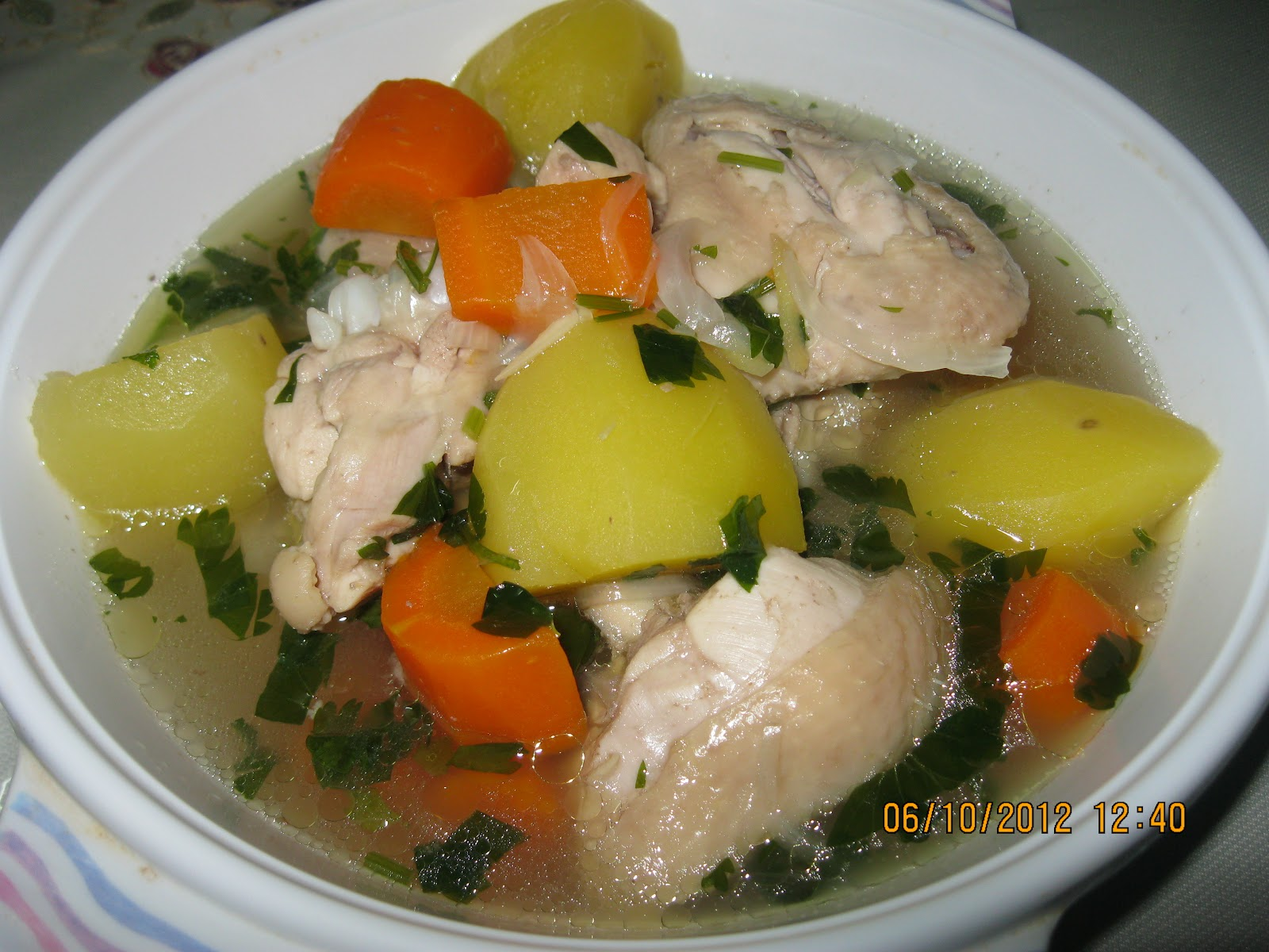 Resep Ayam Herbal