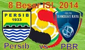 Jadwal & Hasil Pertandingan Persib Vs Pelita Bandung Raya, Babak 8 Besar ISL 2014