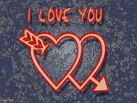 ảnh nền có chữ I Love You