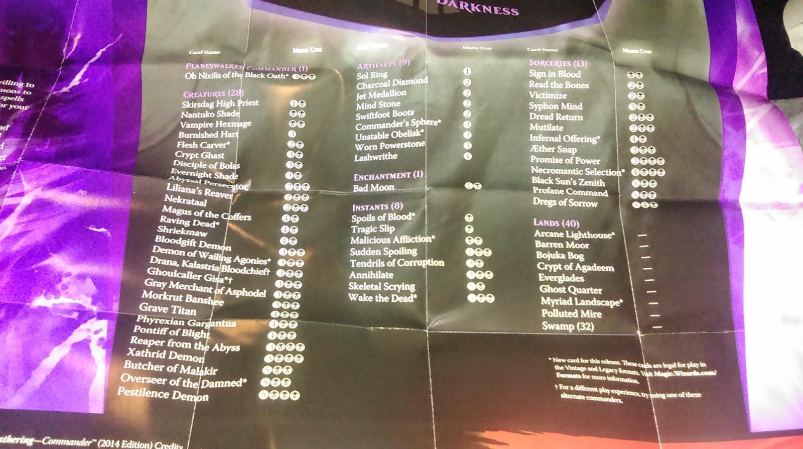 4 TRAGIC SLIP ~mtg NM-M Commander 2014 Com x4
