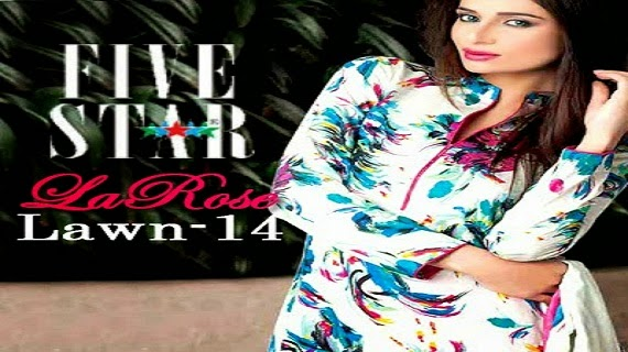 Five Star LaRose Lawn Collection 2014