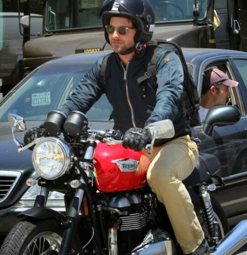 Bradley Cooper's Motorcycle Collection | Bradley Cooper | Bradley Cooper's Motorcycle | Celebrity Motorcycles | Celebrity Bikers | Bradley Cooper Motorcycle Pictures | Bradley Cooper riding Motorcycle