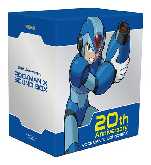 Rockman music rockman x sound box for Megaman 9 portada