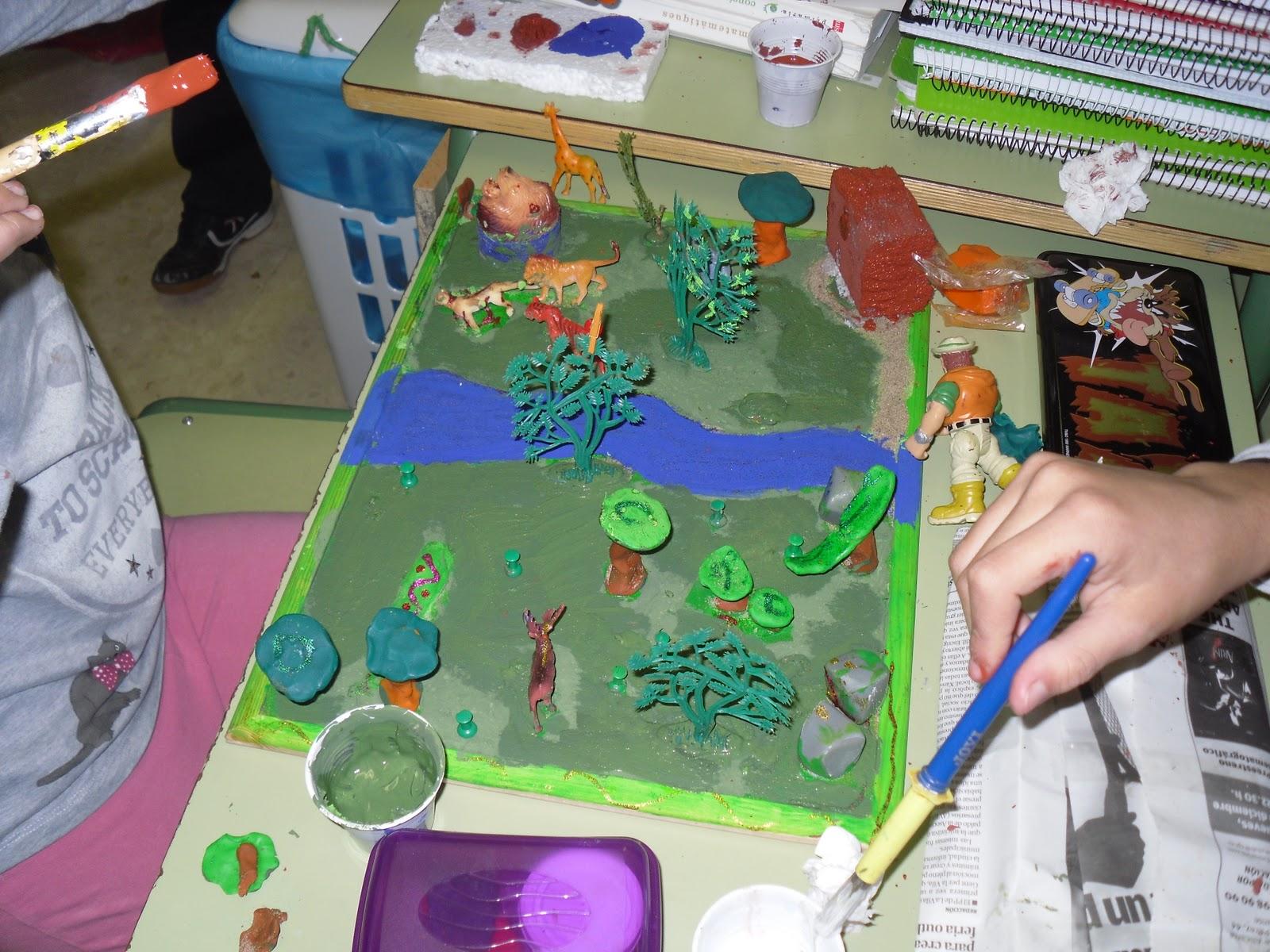 Maqueta del ecosistema - Imagui