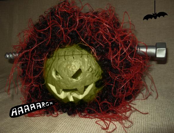calabaza de halloween diy