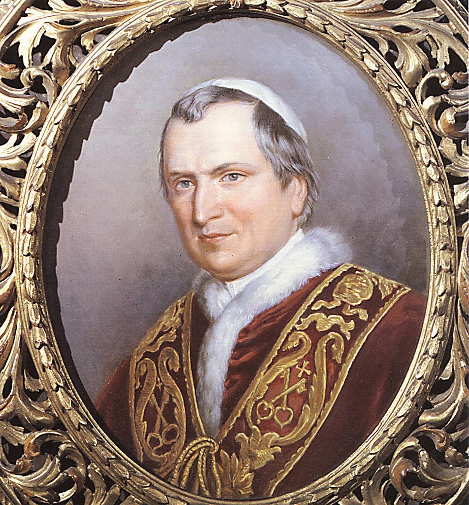 O bem-aventurado Papa Pio IX