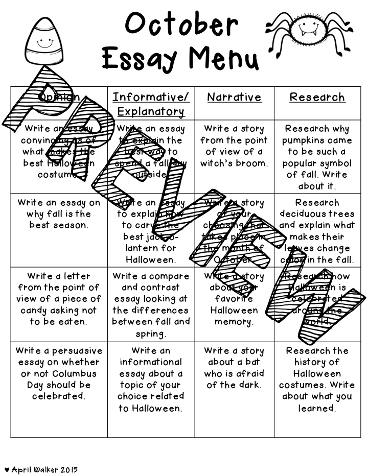 the idea backpack essay writing menu on  well better late than never i finally finished my essay menu and writing practice it s 50% off for the next few days since i finally finished it