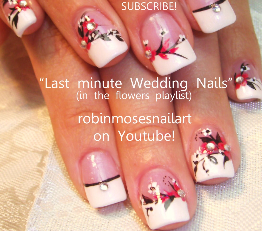 Robin moses nail art wedding nail art designs to make your wedding nail art designs to make your special day complete prinsesfo Image collections