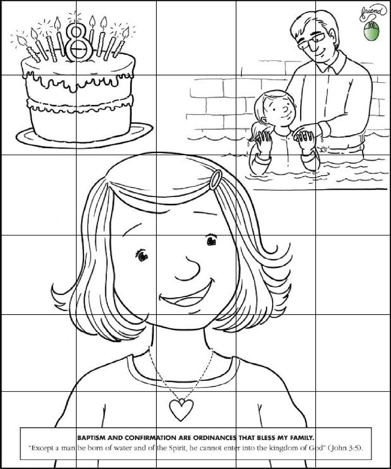 RobbyGurl\'s Creations: LDS Pictures for the 6 Sided Puzzle