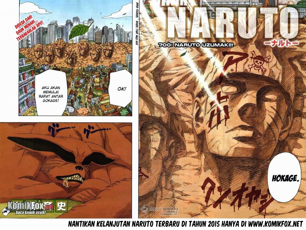 Cerita terakhir Naruto episode 700 Tamat