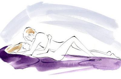 2 Posisi hubungan badan Intim Suami Istri Agar Cepat Hamil Punya Momongan
